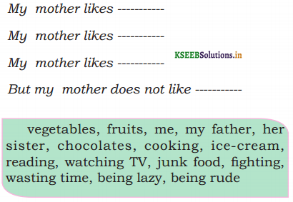 KSEEB Solutions for Class 6 English Poem Chapter 8 A Sonnet for my incomparable Mother 2