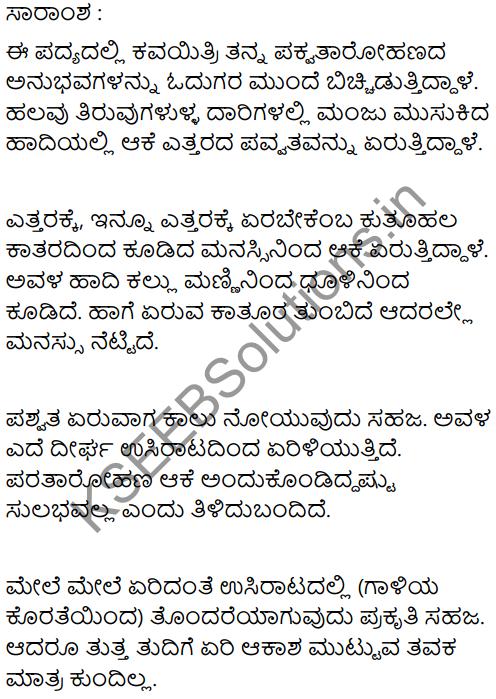 Mountain Climbing Summary in Kannada 1