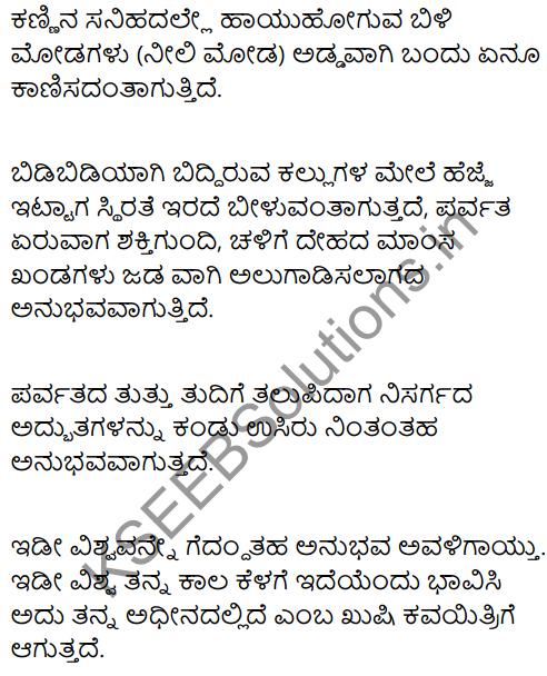 Mountain Climbing Summary in Kannada 2