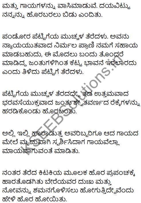 Pandora's Box Summary in Kannada 6