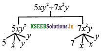 KSEEB Solutions for Class 7 Maths Chapter 12 Algebraic Expressions Ex 12.1 4